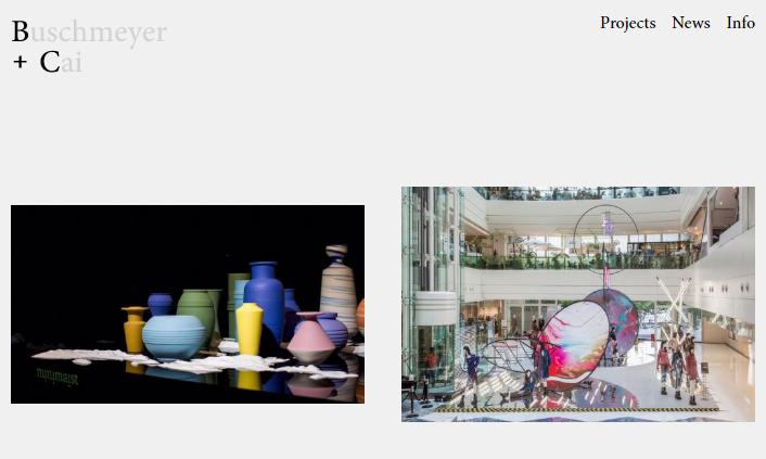 德国建筑设计公司B+C 网站正式上线