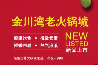 大连市金川湾老火锅城网站正式上线